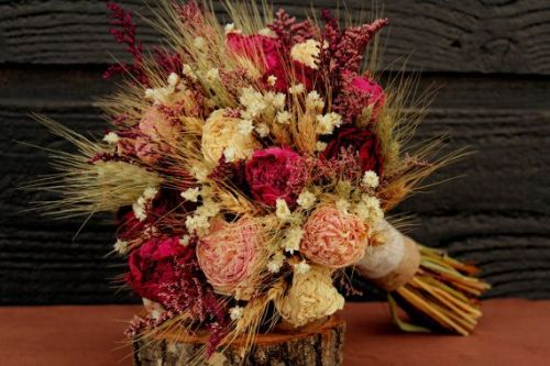 rustic-burgundy-and-pink-wedding-bouquet-large-bridal-bouquet-rustic-chic-bouquet-dried-flowers-peony-bouquet-with-wheat-wild-flowers